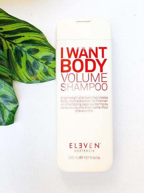 I Want Body VolumeShampoo
