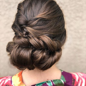 Soft and romantic updos are my absolute