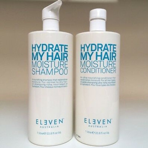 Hydrate My Hair Moisture Shampoo & Conditioner Liters
