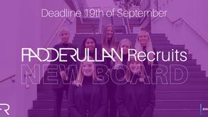 Fadderullan Recruits a New Board