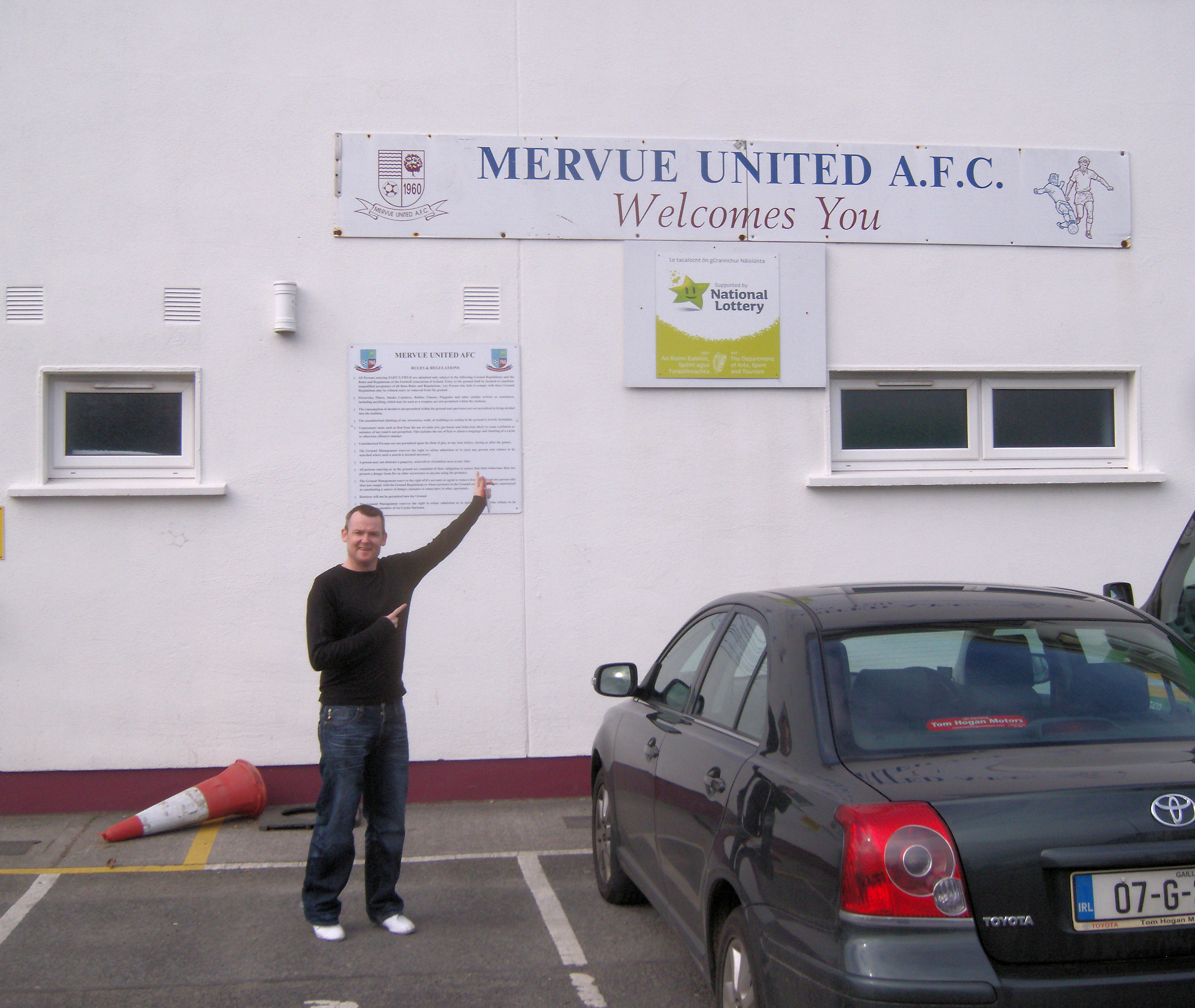 Fahy's Field - Mervue United