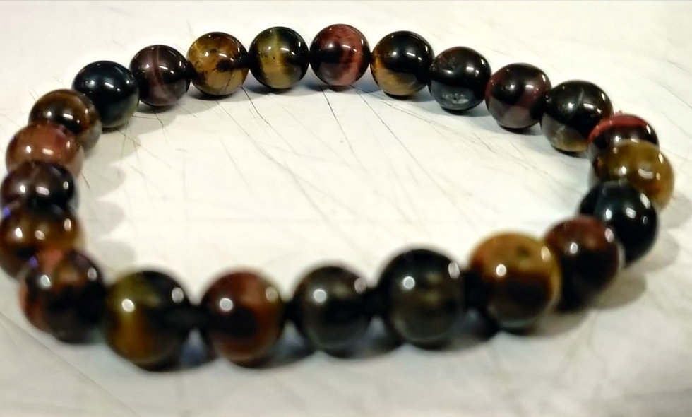 Tiger Eye W/ Black Tourmaline