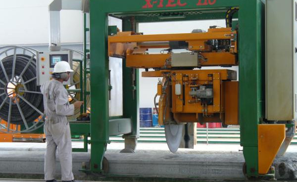 Precast Machinery Cutting