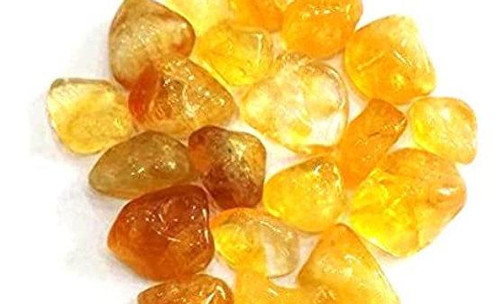 Yellow Citrine Pebbles