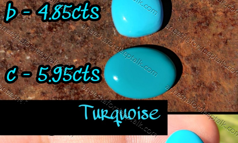 Turquoise - 2.6 cts
