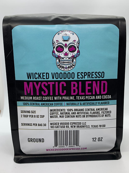 Coffee Mystic Blend Whole Bean 12 oz