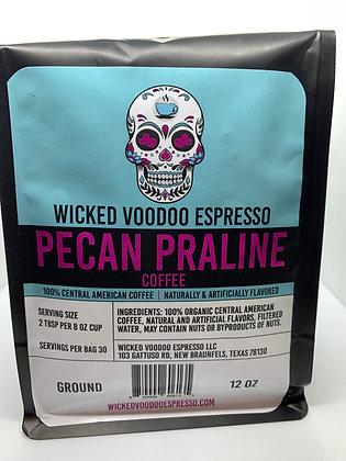 Coffee Pecan Praline Drip Ground 12 oz