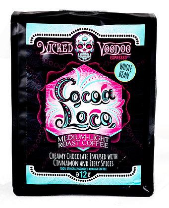 Coffee Cocoa Loco Whole Bean 12 oz