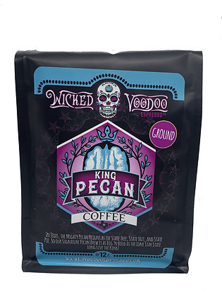 Coffee King Pecan Whole Bean 12 oz