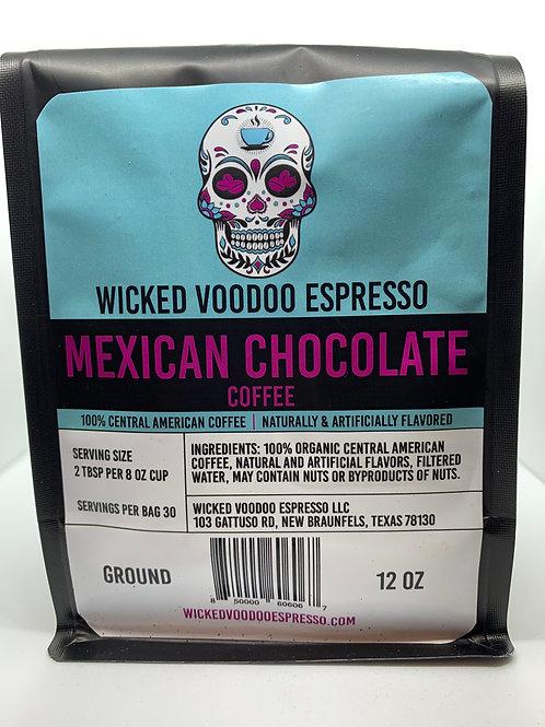 Coffee Mexican Chocolate Whole Bean 12 oz