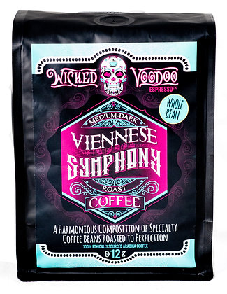 Coffee Viennese Symphony Roast Whole Bean 12 oz