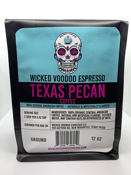 Coffee Texas Pecan Drip Ground 12 oz