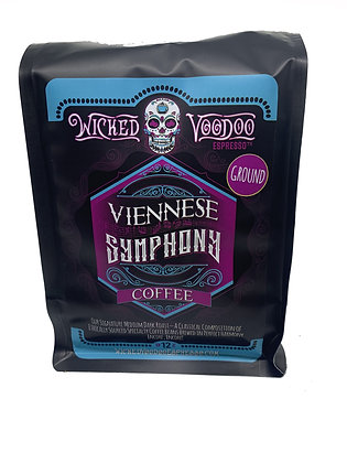Coffee Viennese Symphony Roast Whole Bean 12 oz