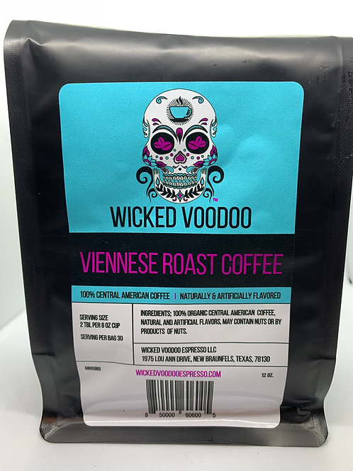 Coffee Viennese Roast French Press Ground 12 oz