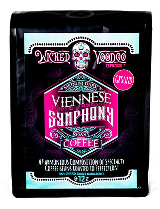 Coffee Viennese Symphony Roast Drip Ground 12 oz