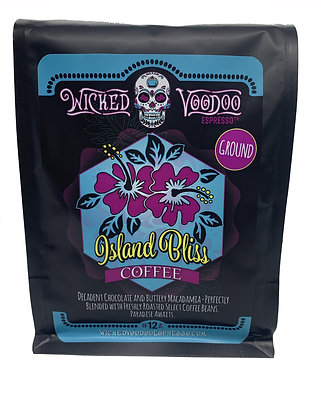 Coffee Island Bliss French Press Ground 12 oz