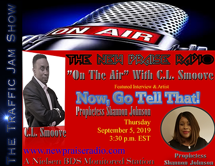 On The Air-Now Go Tell That-Prophetess S