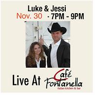 1 Luke and Jessi at cafe fontanella  Oct