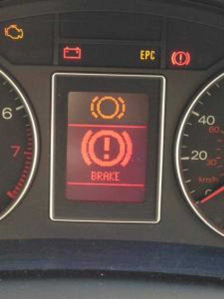 brake pad wear indicator light