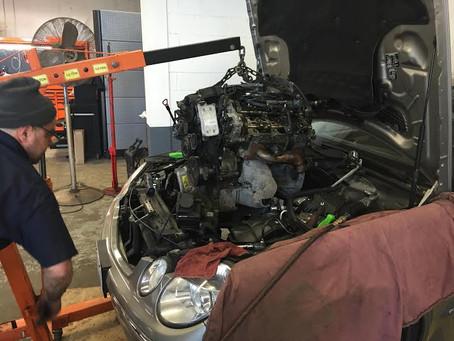Mercedes Benz Engine Replacement