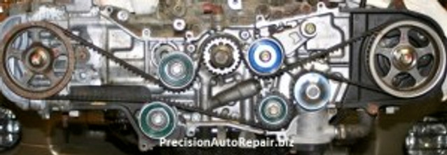 Subaru Timing belt and head gasket replacement