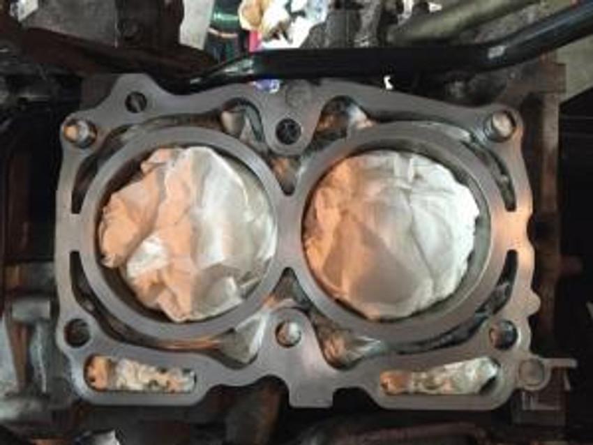 Subaru head gasket leak