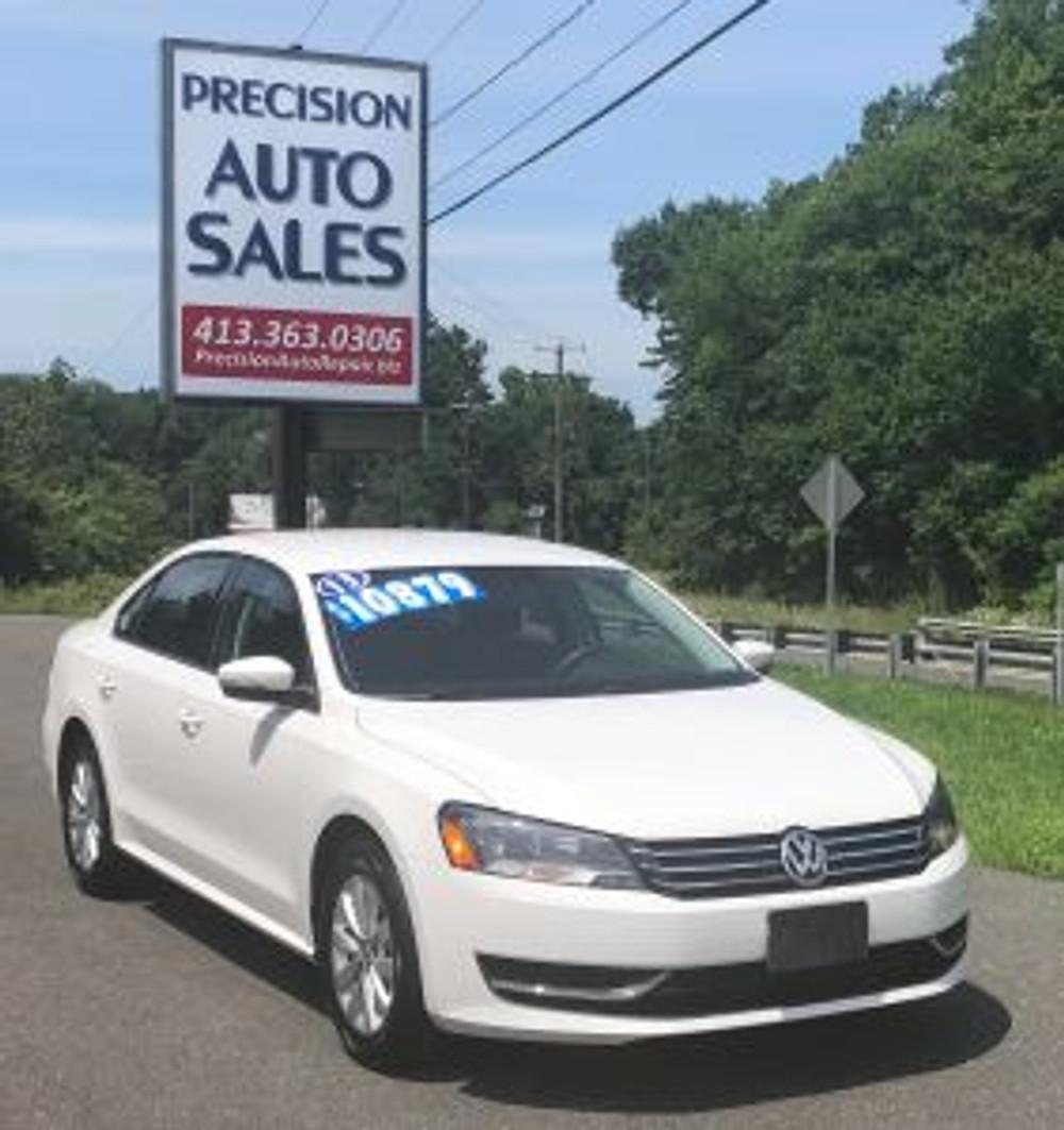 2013 Volkswagen Passat used car dealer west springfield ma