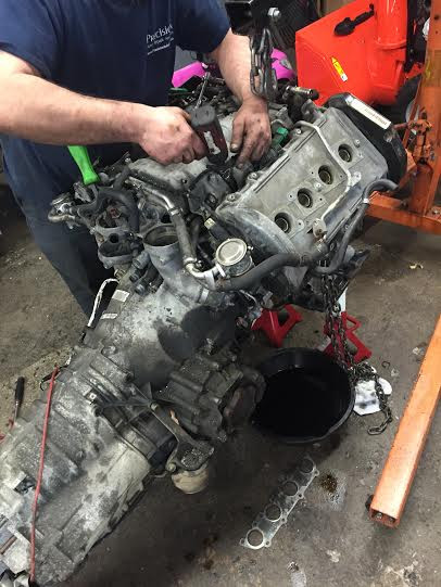 Volkswagen engine replacement