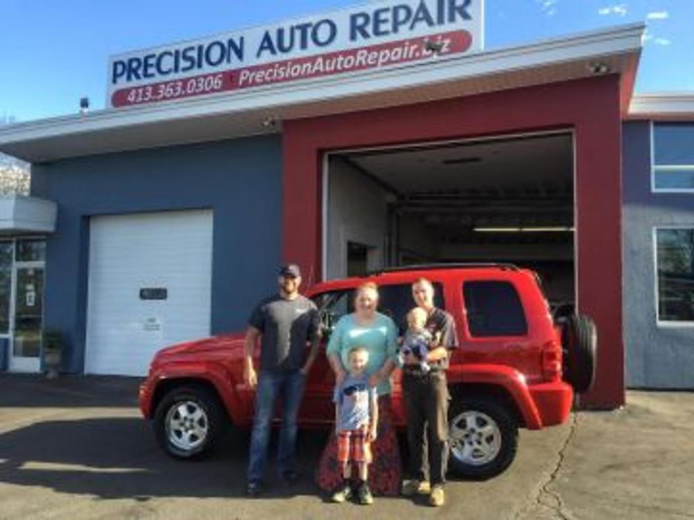 Precision Auto Repair Repair it Forward Winner