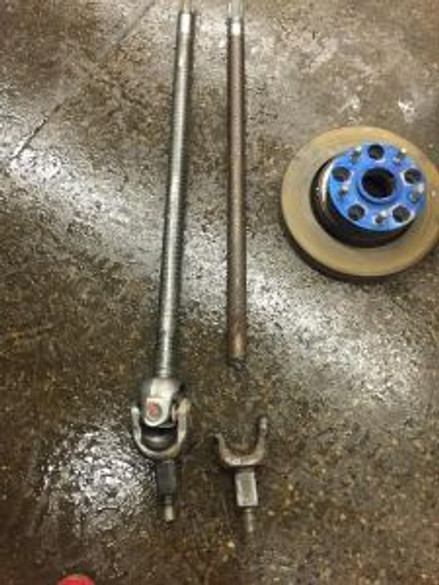 Jeep axle