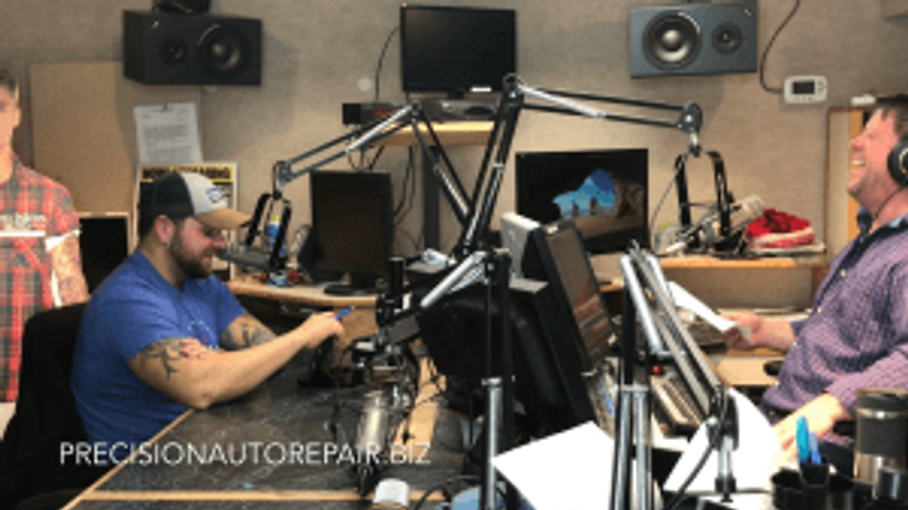 precision auto repair boys under the hood on lazer 993 with james stephenson and pat kelly