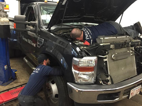 Ford Exhaust Manifold Leak Repair