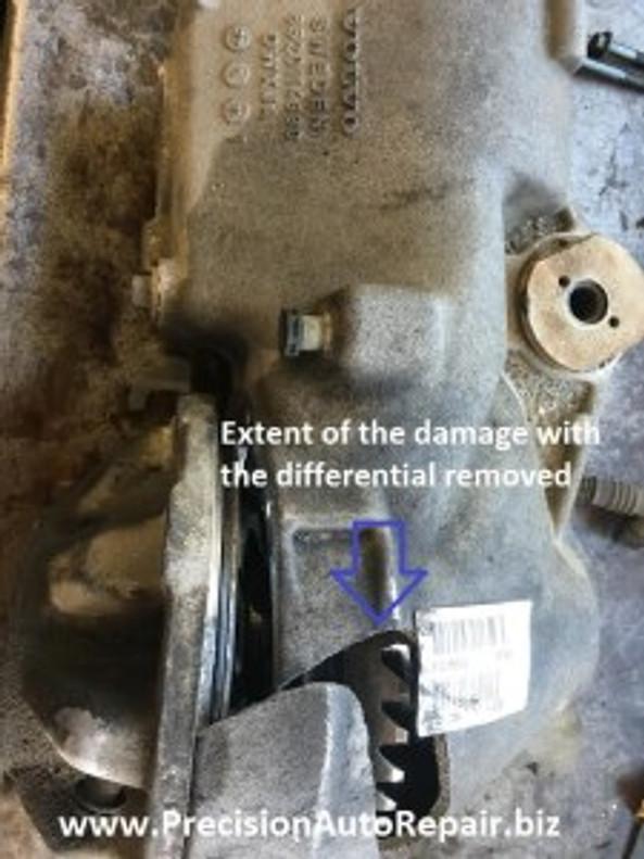 Volvo repair differential noise