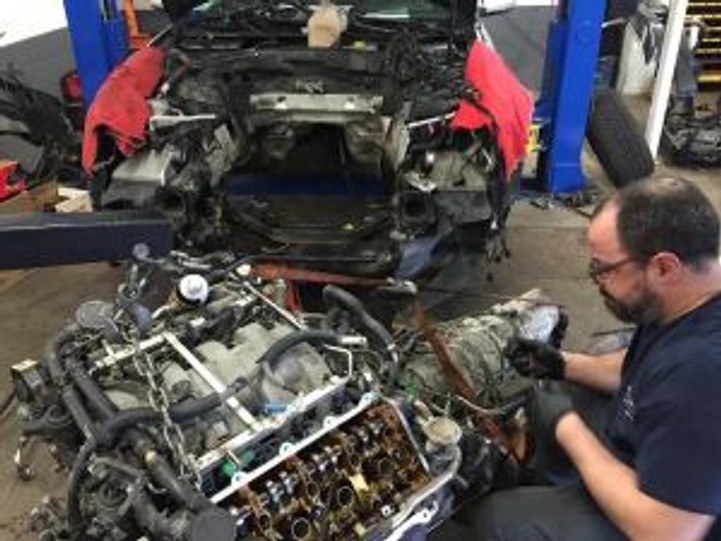 Audi engine replacement
