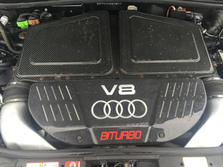 Audi RS6 Engine Replacement