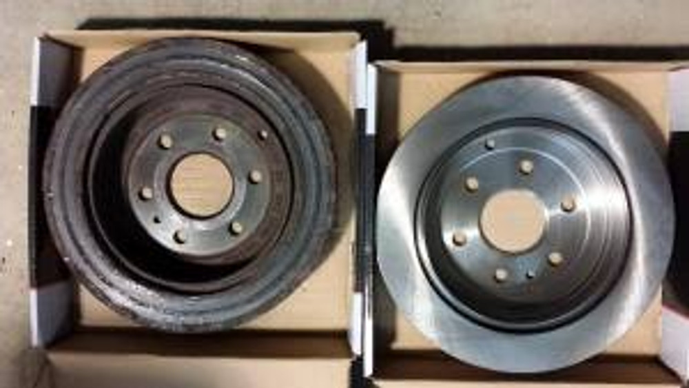 Brake rotor replacement
