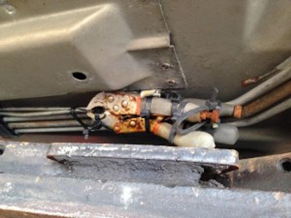 Brake line repair