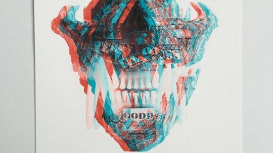 3D Bobcat Skull