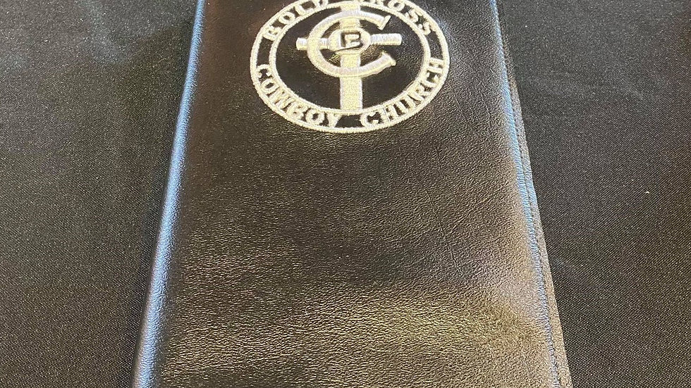 Black Bible Cover