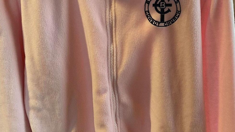 Pink Long Sleeve Fleece