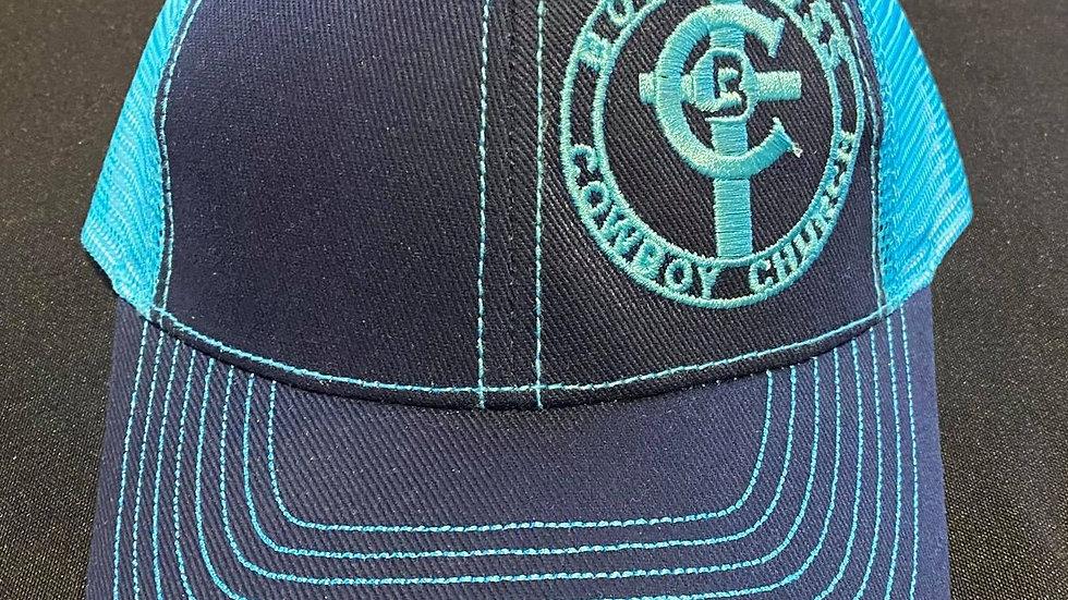 Blue Tones Hat