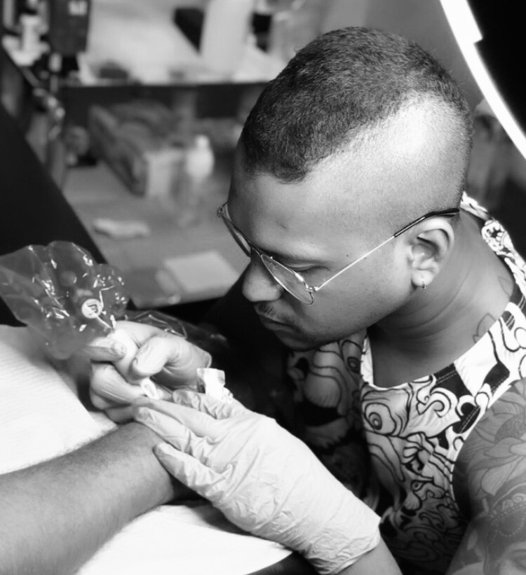 Busy Tattooing