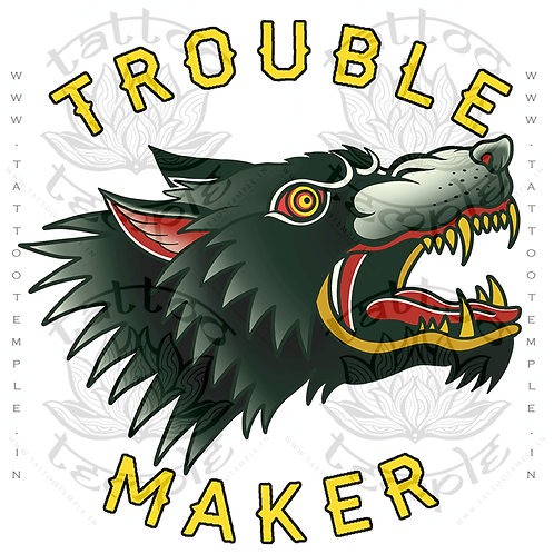 Trouble Maker Wolf