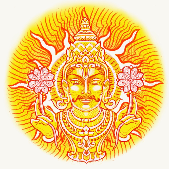 Sun God - Tattoo Design & Meaning