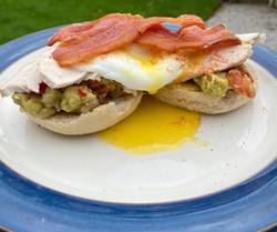 Turkey Eggs Benedict