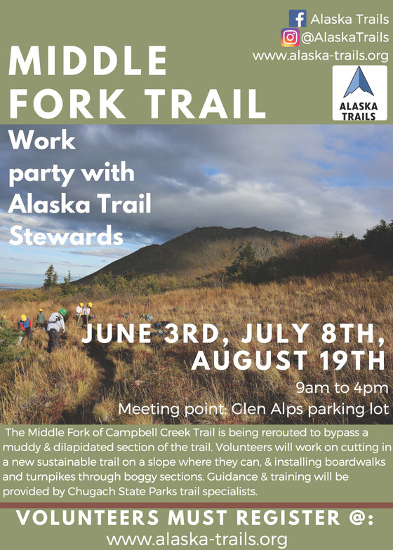 Volunteer Opportunities with Alaska Trails