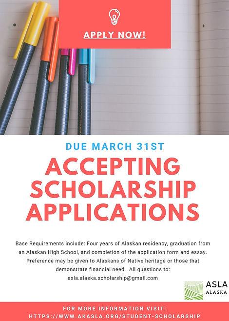 ASLA AK Scholarship Announcement_ Final.