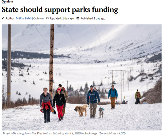 Op-ed written by President of ASLA AK featured in ADN.