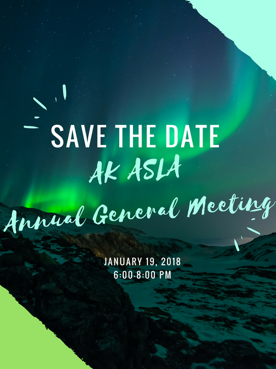 SAVE THE DATE: Annual General Meeting
