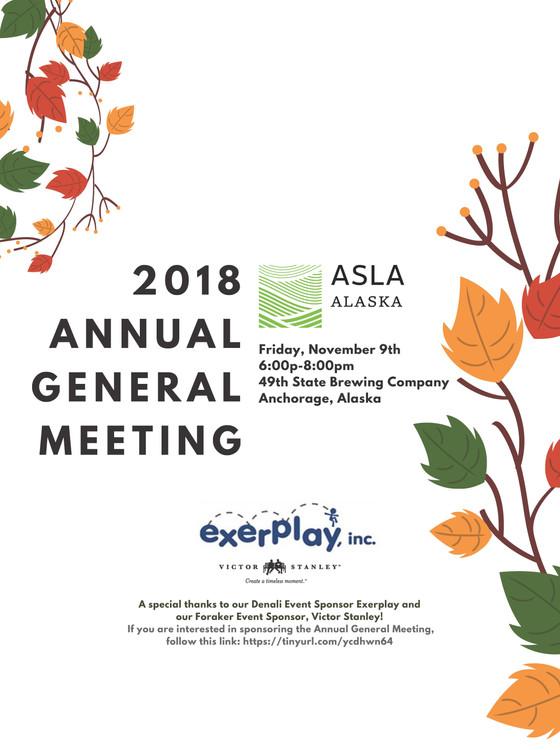 ASLA AK Annual General Meeting